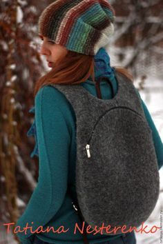 Handmade backpacks.  Backpack