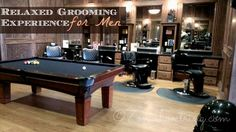 Relaxed Grooming Experience for Men at The Boardroom Salon located in Frisco and Dallas, Texas.
