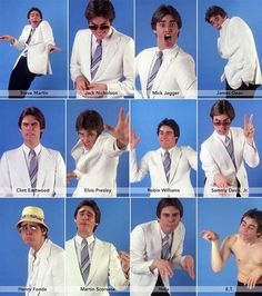 Jim Carrey impersonating celebrities, 1992