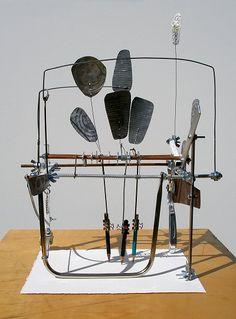 wind-driven drawing machine . jamie newton