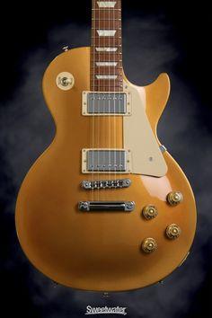 Gibson Les Paul Studio 2013 (Gold top dark back) Gibson Les Paul Studio, Fender Guitars, Gold Top, Instruments, Dark, Music, Guitars, Musica, Musik