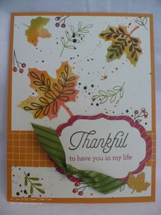 The Inky Scrapper: September Stamp of the Month: Blessed Beyond Measure