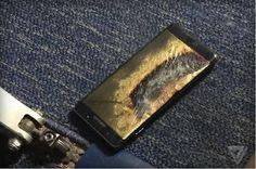 Samsung Galaxy Note 7: Austauschgerät fängt im Flugzeug Feuer