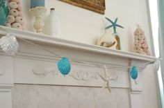 Hey, I found this really awesome Etsy listing at https://www.etsy.com/listing/82914337/beach-decor-mantel-fireplace-garland