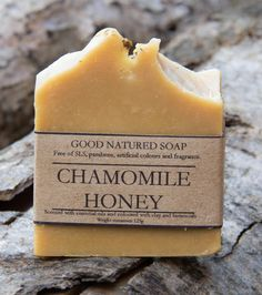 Chamomile honey handmade natural soap   - 125 grams £4.25