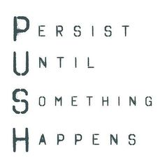 January 21st 2013 / Quote #118 Persist
