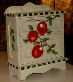 Metal Light Switch Plate Cover Vintage Fruit Crate Decor Fairy Brand Apples