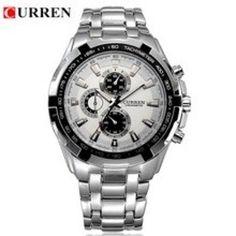 CURREN Quartz Full Steel Military Sports Watch For Men #watchesonline #onlinewatches #wristwatches #gentswatch #watches #watchesmen #watch #menwatches #myinstagram