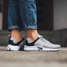 """3,875 Likes, 68 Comments - Titolo Sneaker Boutique (@titoloshop) on Instagram: """"Nike Wmns Air Presto LOTC Quickstrike - Wolf Grey/Black-White available @titoloshop ⬆️ link in bio."""""""