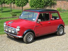 Morris Mini Cooper S Mark II........I would drive this everyday