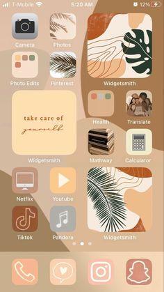 Iphone App Design, Iphone App Layout, Ios Design, Iphone Wallpaper App, Aesthetic Iphone Wallpaper, Icones Do Iphone, Iphone Home Screen Layout, Aesthetic Dark, Aesthetic Grunge