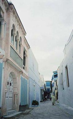 Along the Street - Sidi Bou Said, Tunis