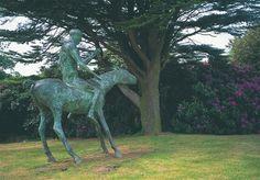 Horse and Rider sculpture, 1969 by Dame Elisabeth Frink.