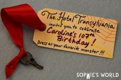 hotel transylvania party invitations - Pesquisa do Google