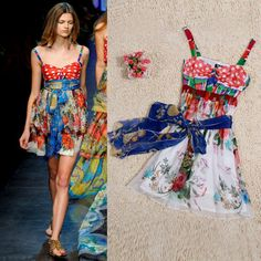 *Runway Collection* Inspired by Milan 2012 Silk Scarf-Style Dress  $90.00...expensive but cute!