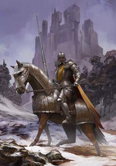 The Knight of Asnardak by ilkerserdar.deviantart.com on @deviantART