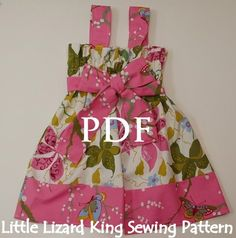 Griffin's Garden Party Dress - SEWING PATTERN