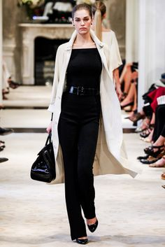 I love this look.  It's Ralph Lauren and I don't like Ralph Lauren, but it's an easy look to put together with any pieces.