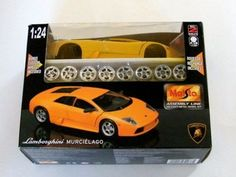 Cool Lamborghini: Maisto-Lamborghini-Murcielago-1-24-Scale-Model-Kit-Die-Cast-Vehicles...  Toys & Games . Play with Have fun! Check more at http://24car.top/2017/2017/04/27/lamborghini-maisto-lamborghini-murcielago-1-24-scale-model-kit-die-cast-vehicles-toys-games-play-with-have-fun/