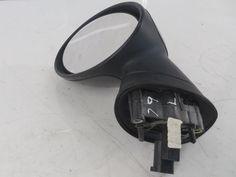 51167192469 02-08 Mini Cooper Left Side View Mirror Black R50 R52 R53 79