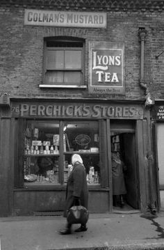 Old Montague Street, East End of London.