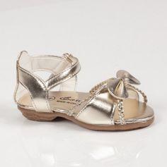 Toddler Gold Sandals
