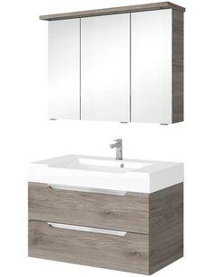 badmobel hagebau, badmöbel-set »florida«, breite 100 cm, 2-teilig jetzt bestellen, Design ideen