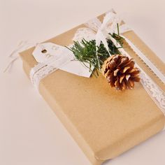gift wrapping by Lauren Conrad
