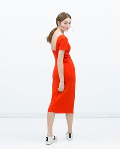 ZARA - WOMAN - DRESS WITH LOW-CUT BACK