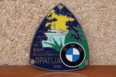 BMW CAR BADGE BUNDESTREFFEN OPATIJA 1968