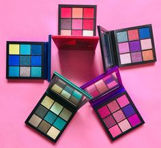 Eyeshadow Palette, Huda Palette, Makeup Palette, Huda Beauty Eyeshadow, Huda Beauty Makeup, Eye Makeup, Makeup Drawing, Makeup Supplies, Luxury Cosmetics