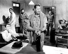 THE GUNS OF NAVARONE, with Gregory Peck, Anthony Quinn, Stanley Baker, James Darren, and David Niven (1961)