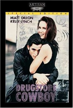 Bob and his friends Dianne, Rick and Nadine have been drug addicts for years and live from one high to the next. Gus Van Sant attempts to show an intimate look into the lives of heroin addicts with his film Drugstore Cowboy. Movie Poster Font, Movie Posters, Best Indie Movies, Kelly Lynch, James Remar, Lions Gate, Matt Dillon, Heather Graham, Avengers Movies