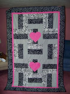 A wedding quilt for a special couple!!!