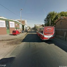 Linea 526 Interno 3 . La Favorita Mercedes Benz OF 1418 . Camino General Belgrano 4401-4499, Wilde, Buenos Aires, Argentina   Instant Google Street View