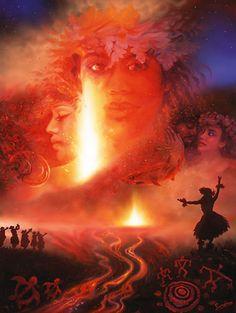 Pele - Fire Goddess