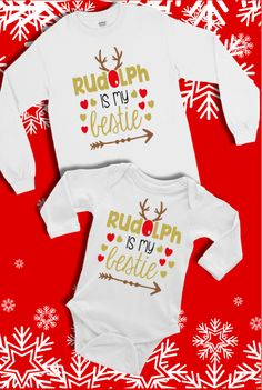 "This bodysuit is part of our EXCLUSIVE ""Snow Cute"" Baby & Toddler 2017 Holiday Collection! ""Snow Cute"" is a handmade original line from Alandalie Boutique! Boy Onesie, Onesies, Holidays 2017, Cute Babies, Toddler Girl, Etsy Seller, Bodysuit, Snow, Boutique"