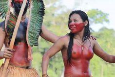 Tarauacá Agora : Índia Yawanawá - a beleza da mulher acreana