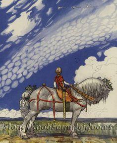 Swedish Fairy Tales ~ Book Art ~ Counted Cross Stitch Pattern #StoneyKnobFarmHeirlooms #CountedCrossStitch