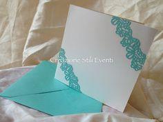 """Creazione Stili Eventi: Partecipazioni matrimonio - """" Colazione da Tiffany """" !!"""