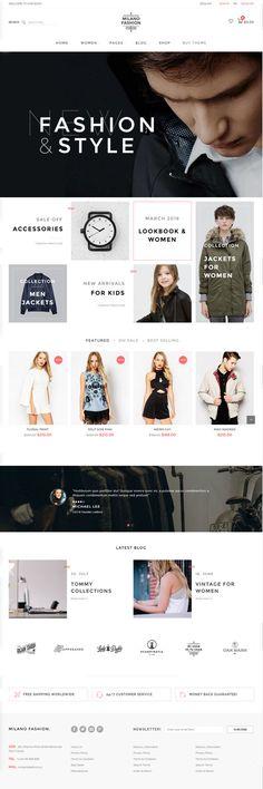 Milano – Fashion Responsive WooCommerce Theme