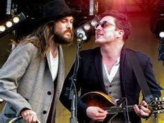 Alex Ebert (Edward Sharpe and Magnetic Zeros frontman) & Marcus Mumford