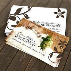 Wedding Business Card Templates