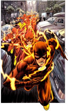 The Flash. My favorite, Wally West represent for the gingers!