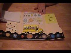 Lapbook - Magic School Bus: Space
