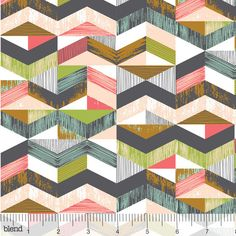 Natural Wonder Coral by Josephine Kimberling for Blend Fabrics