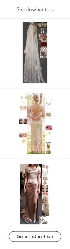 """Shadowhunters"" by msmarvel70 ❤ liked on Polyvore featuring Blue Nile, Lime Crime, Dolce&Gabbana, Effy Jewelry, Talbots, Jenny Packham, Allurez, Gucci, DaVonna and Kendra Scott"