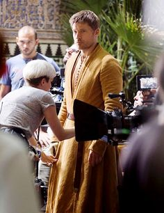 Game of Thrones:  Nikolaj Coster-Waldau on set of season 5