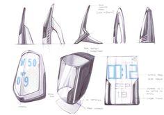 Sketches by Roshan Hakkim at Coroflot.com