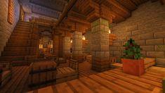Minecraft Palace, Minecraft House Plans, Minecraft Houses Survival, Minecraft Medieval, Minecraft Bedroom, Minecraft Blueprints, Minecraft Creations, Minecraft Projects, Minecraft Crafts